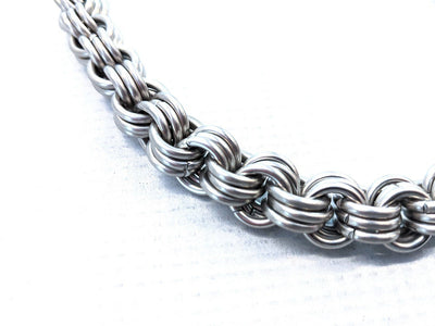 22 Inch 3 In 3 Chain Mail Wallet Chain - Anvil Customs