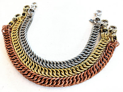 22 Inch Goliath Half-Persian Chain Mail Wallet Chain - Anvil Customs
