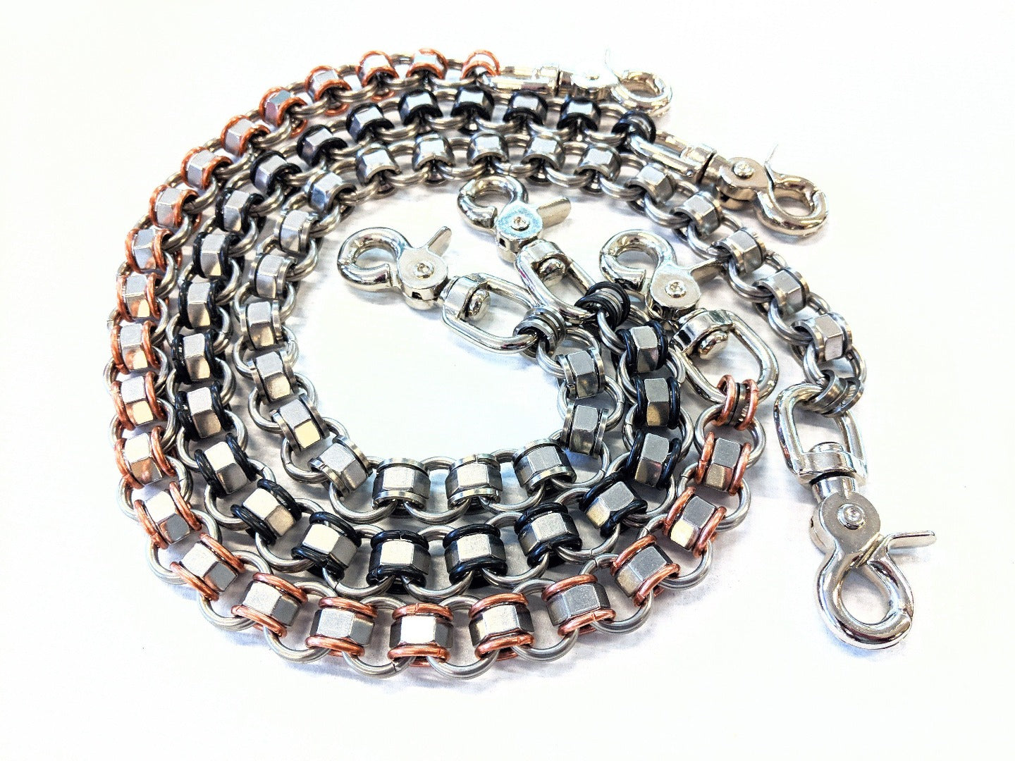 22 Inch Industry Chain Mail Wallet Chain