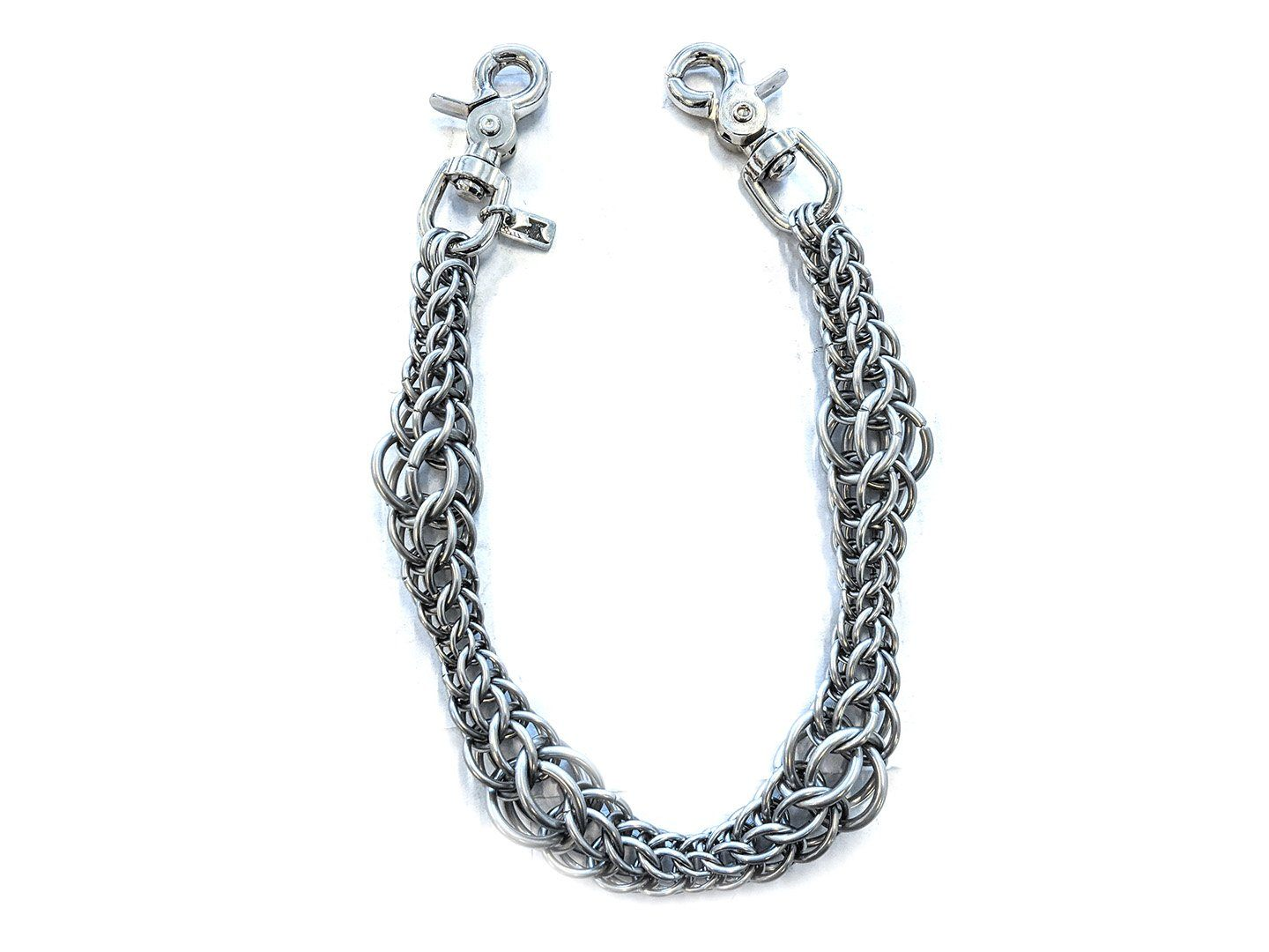 22 Inch Persian Chain Mail Wallet Chain - Tapered Gauge