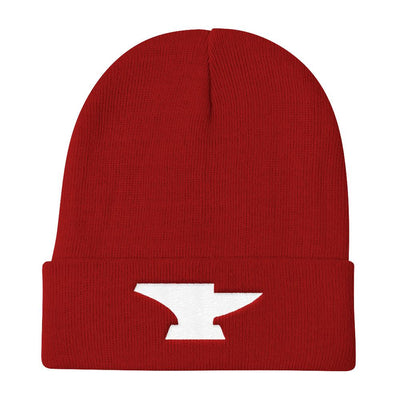 Embroidered Anvil Customs Beanie - Anvil Customs