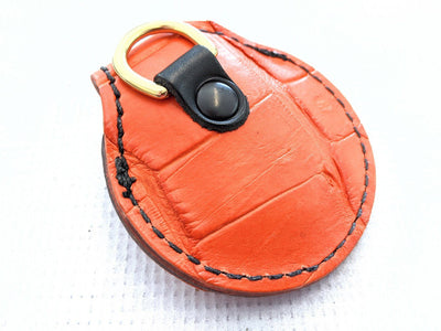 Harley-Davidson Remote Alarm Key Fob - Orange Alligator - Anvil Customs