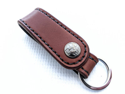 Leather Loop Belt Attachment Fob - Anvil Customs