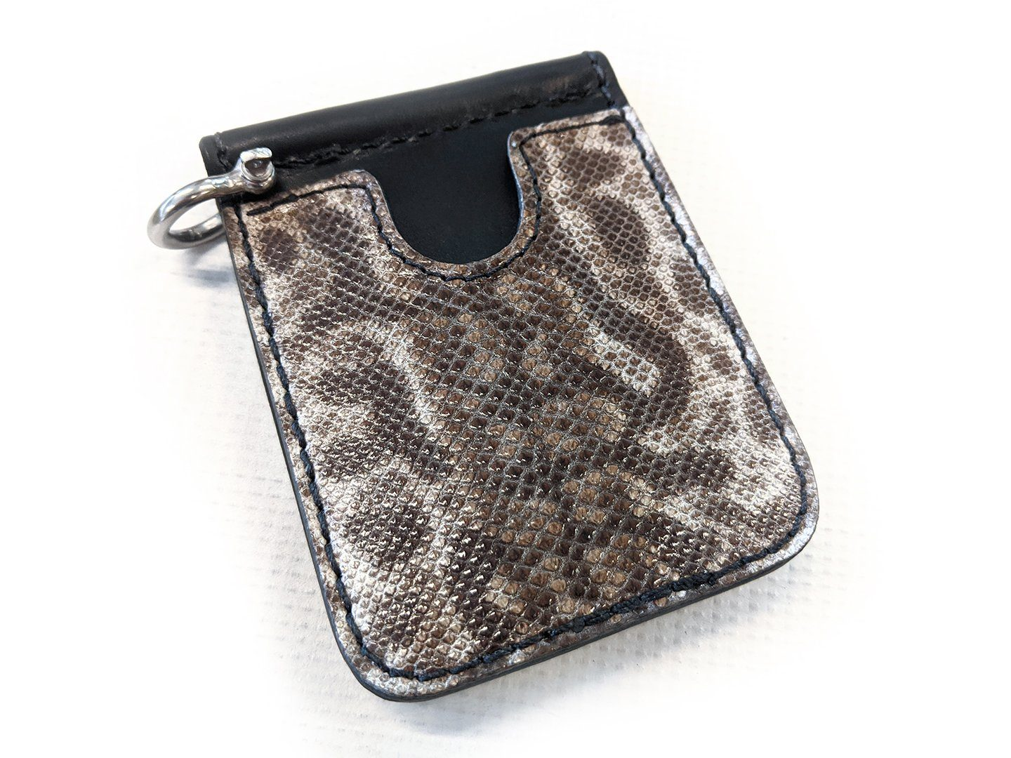 Money Clip Wallet - Karung Snake