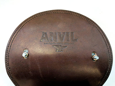 Motorcycle / Chopper Solo Spring Seat - Bordeaux Alligator - Anvil Customs