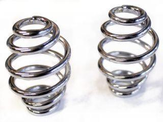 "Motorcycle Seat Springs - 3"" Beehive Coil Springs - Anvil Customs"