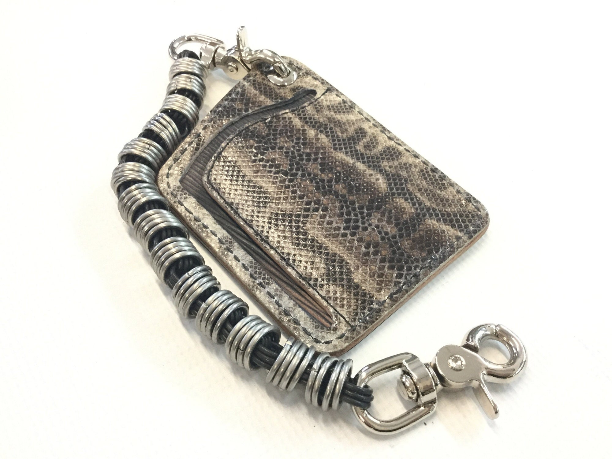 Puritan Chain Wallet - Karung Snake - Anvil Customs