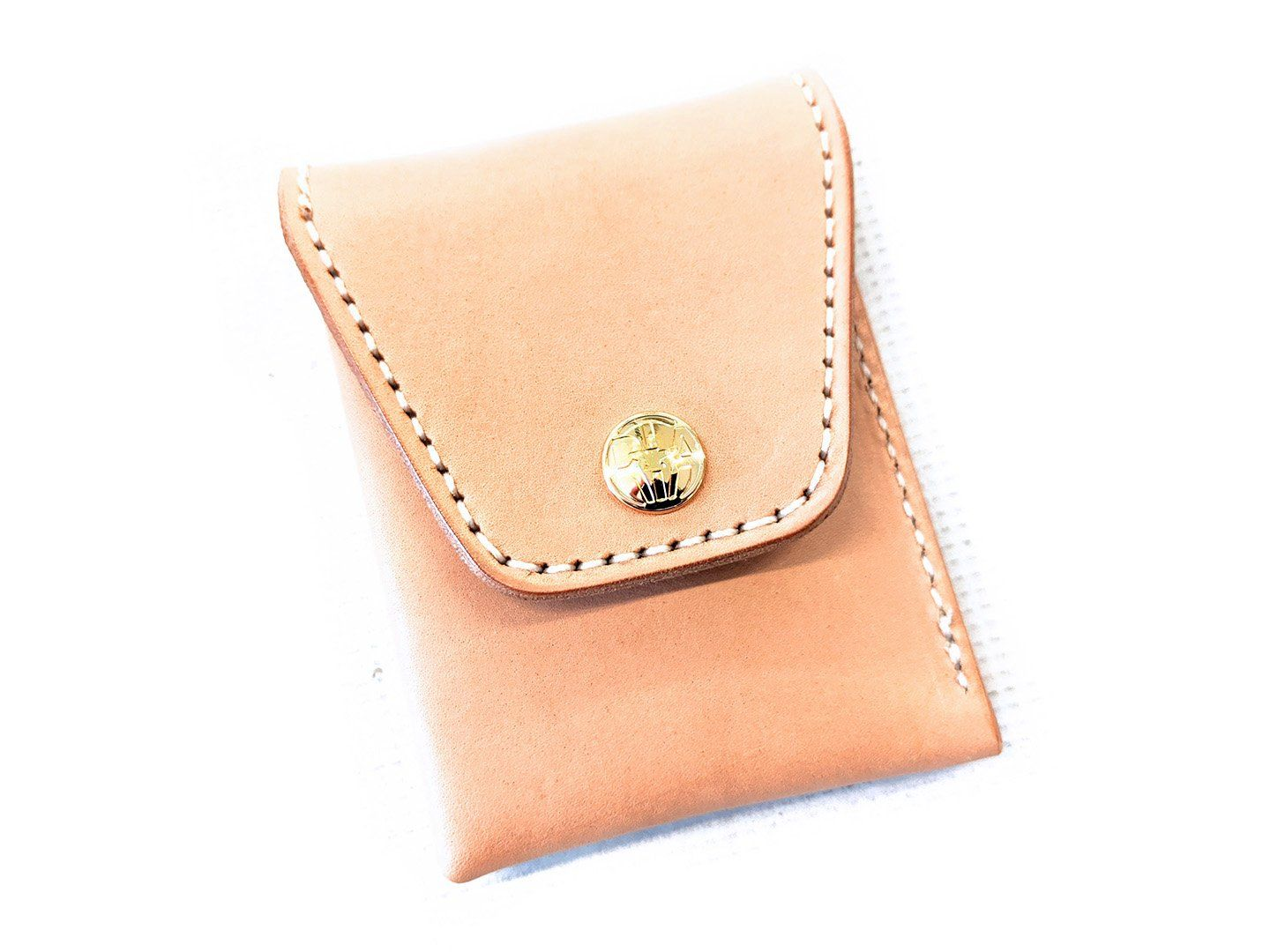 Sarasota Pocket Wallet - Natural Cowhide