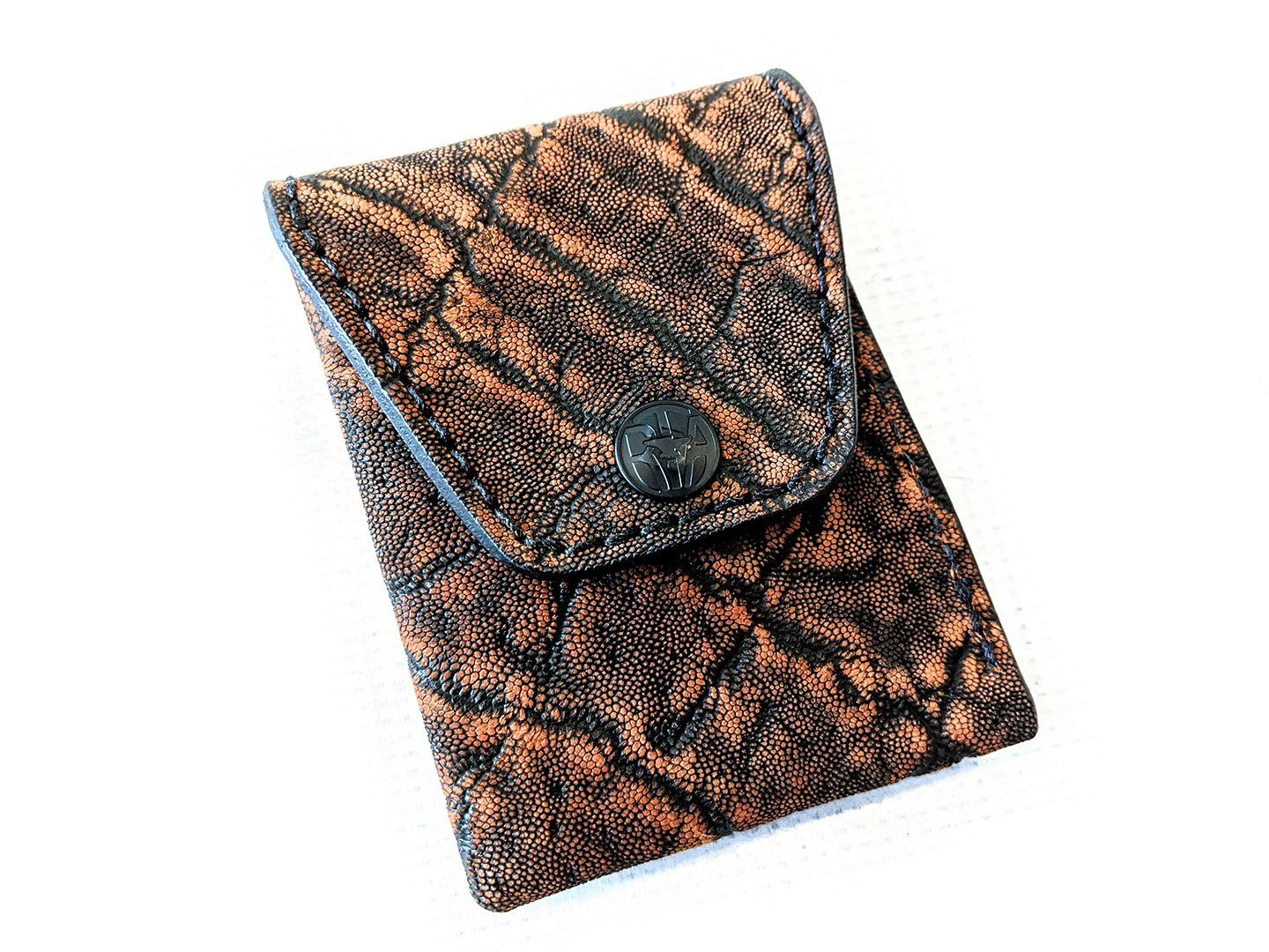 Sarasota Wallet - Cognac Elephant - Anvil Customs
