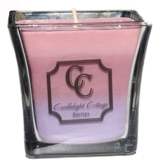 16 oz. Large Flared Square Soy Candle