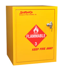 SC8023 Bench Flammables Cabinet, Self-Closing Door