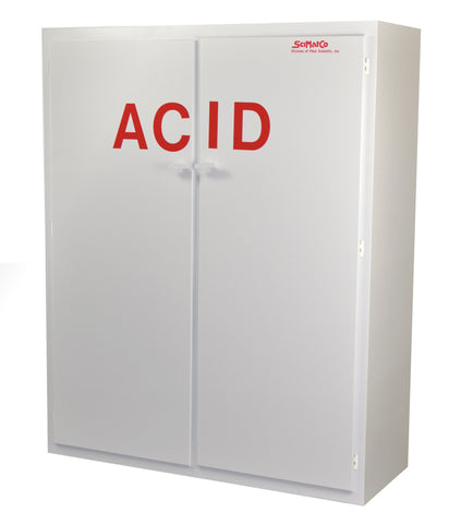 "SC5060 Polypropylene Acid Cabinet, 60"" Tall"