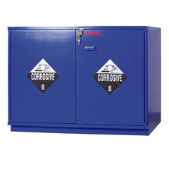 "SC1448 Under-the-Counter, Corrosive Cabinet, Partially Lined, 47"", Blue"