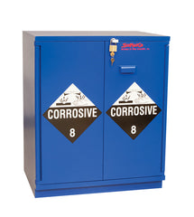 "SC1630 Under-the-Counter, Corrosive Cabinet, Fully Lined, 29"", Blue"
