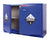"SC1648 Under-the-Counter, Corrosive Cabinet, Fully Lined, 47"", Blue"