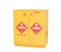 "SC1829 Under-the-Counter, Flammables Cabinet, 29"", Self-Closing Doors"