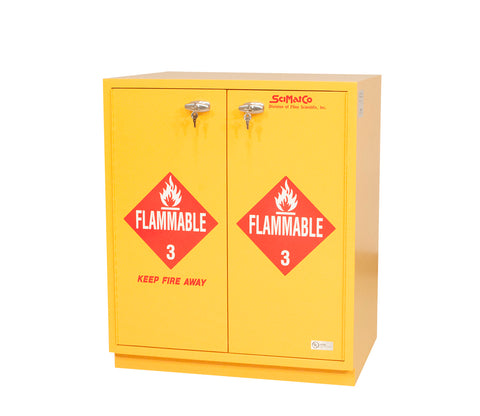 SC1831 Under-the-Counter Cabinet, Flammables, Flame Arrestors, Self-Closing Doors, 29""