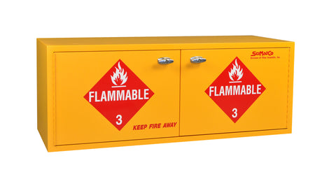 SC1863 Stak-a-Cab™ Flammables Cabinet, Self-Closing Doors