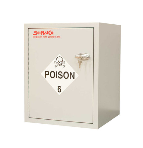 SC6080 Bench Poison Cabinet