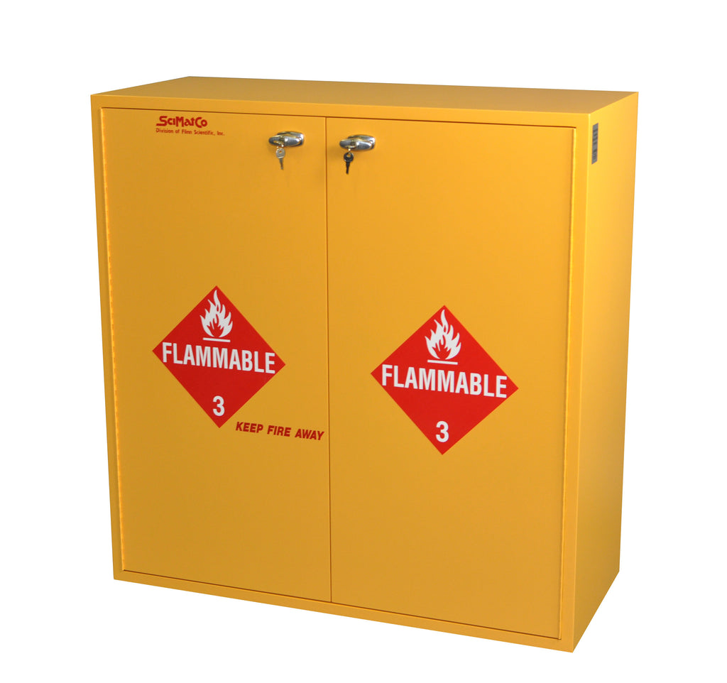 SC7134 54 Gallon Flammables Cabinet With Flame Arrestors And Self Closing  Doors ...