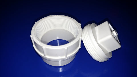 SC8011 PVC Fitting for Acid Cabinet Ventilation
