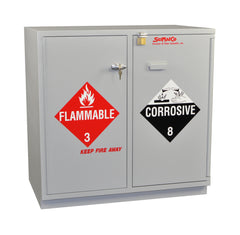 SC2036 Under-the-Counter, Combination Acid/Flammables Cabinet, Partially Lined, 35""