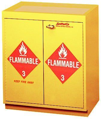 SC6070 Floor Flammable Cabinet with Top Tray