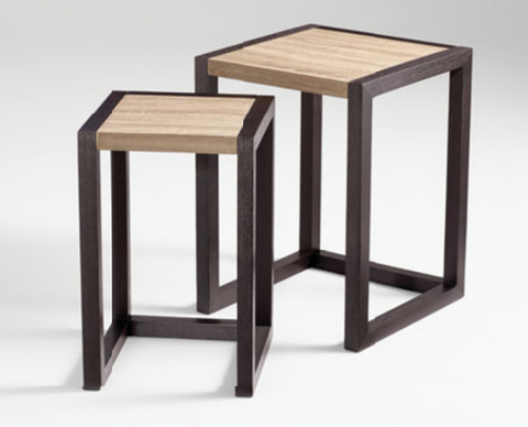 Becket Nesting Tables (Black)
