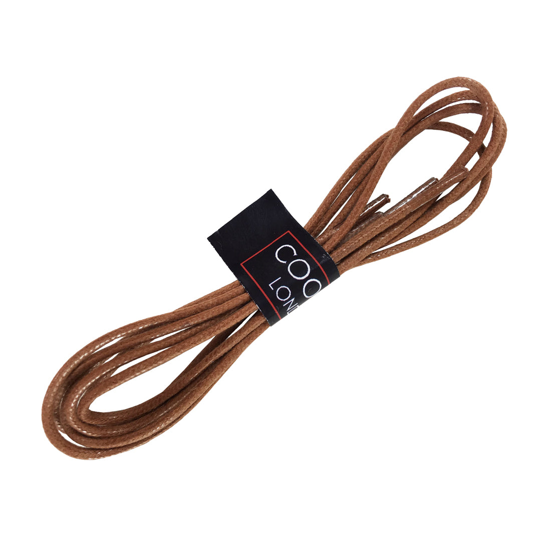 Tan Shoe Laces Thin