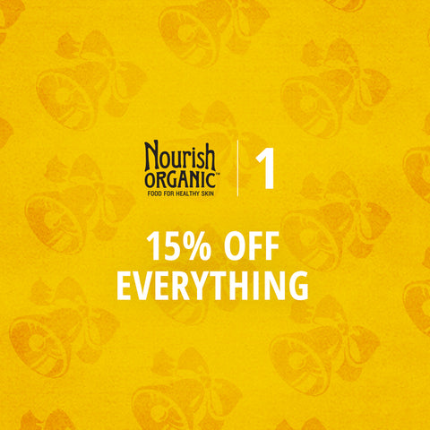 15% off everything at nourishorganic.com