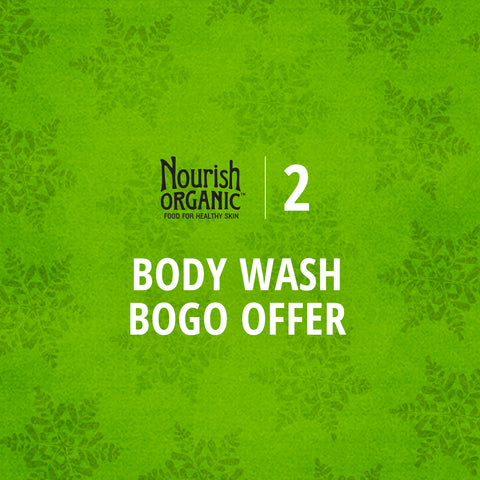 12 Days of Nourish Organic - BOGO on Body Wash
