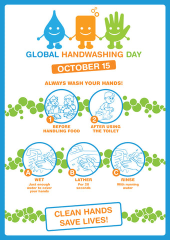 Global handwashing Day Poster