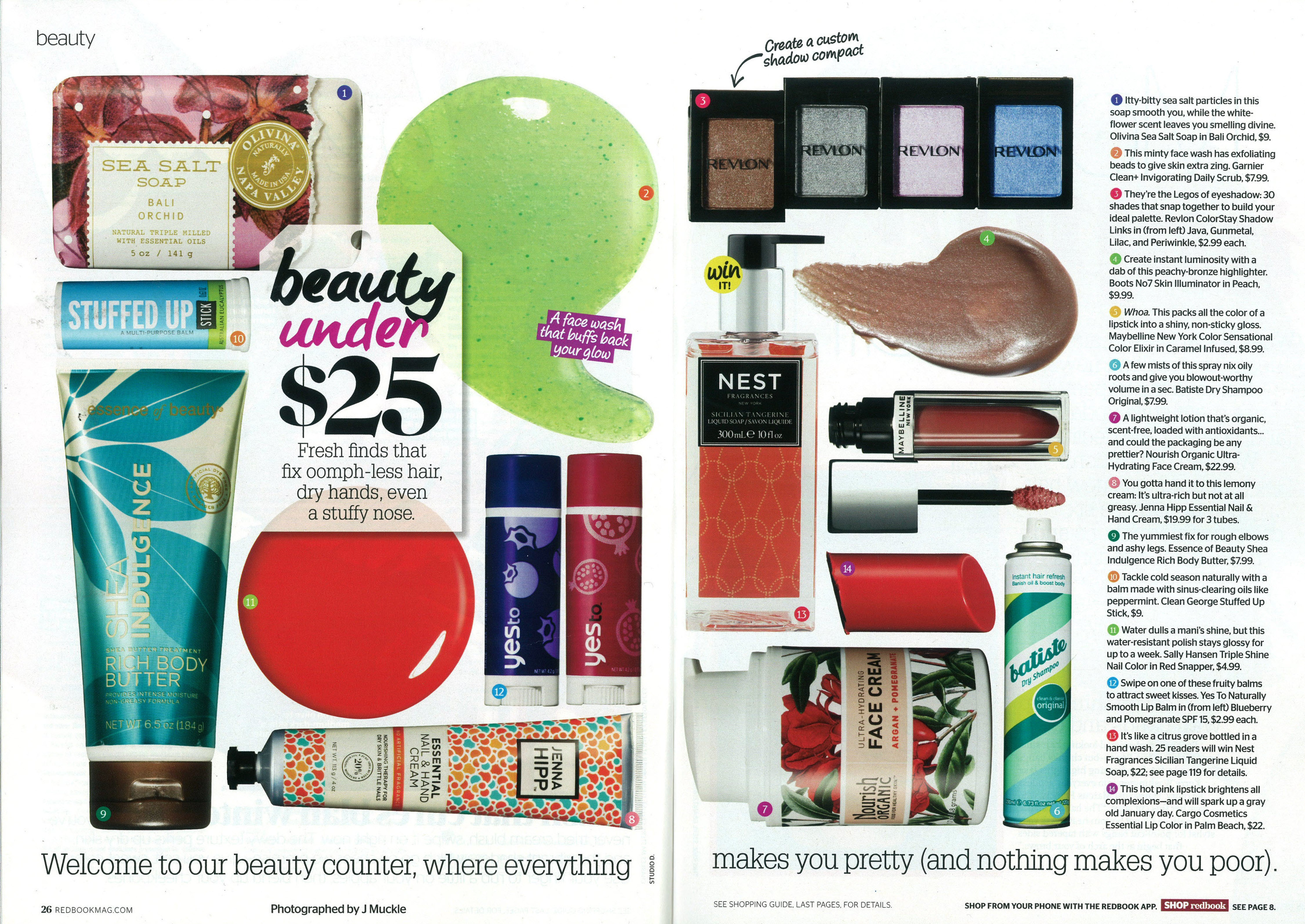 Beauty under $25 article