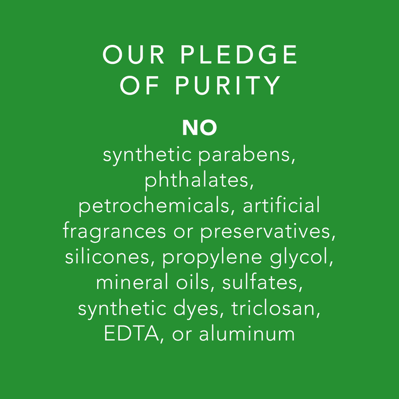 Pure Unscented Deodorant Pledge of Purity