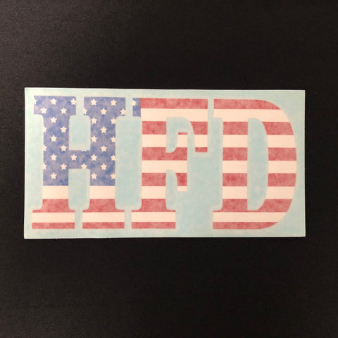 Decal - US Flag Cutout