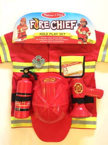 Children's Fire Chief Costume