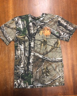 Camo Tee with Orange HFD Shield