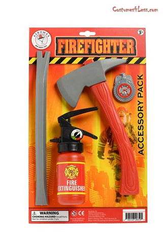 Children's Firefighter Accessory Pack