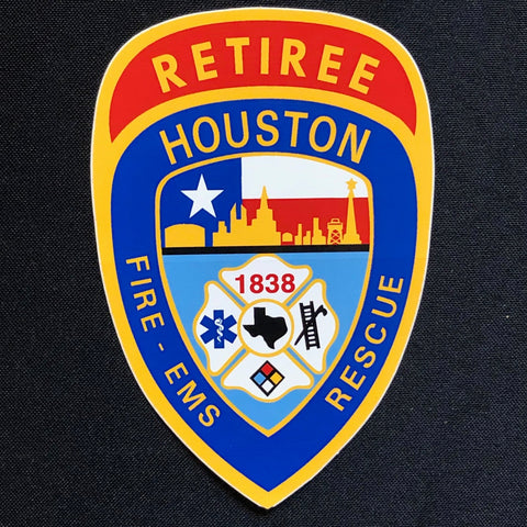 Decal - HFD Retiree