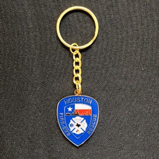 HFD Shield Keychain
