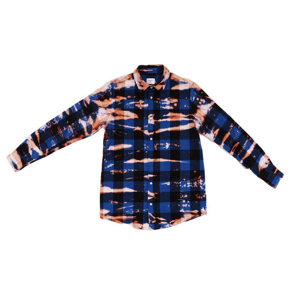 Blue Checkers Dye