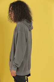 Heavyweight Pigment-Dyed Hooded Sweatshirt