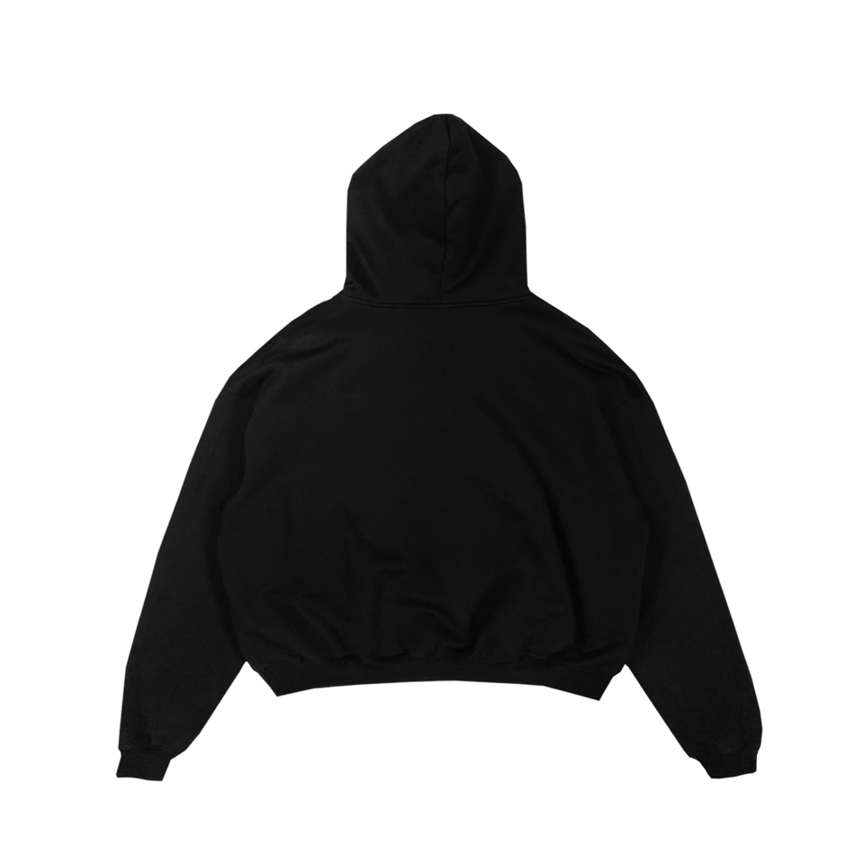 Black Ultra Heavyweight Hoodie