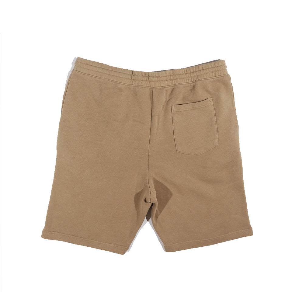 Pigment Dyed Fleece Shorts