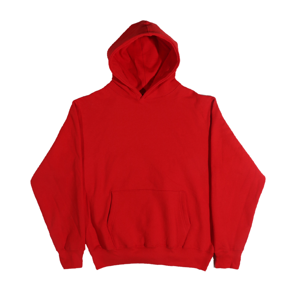 Oversized Hooded Pullover Fleece