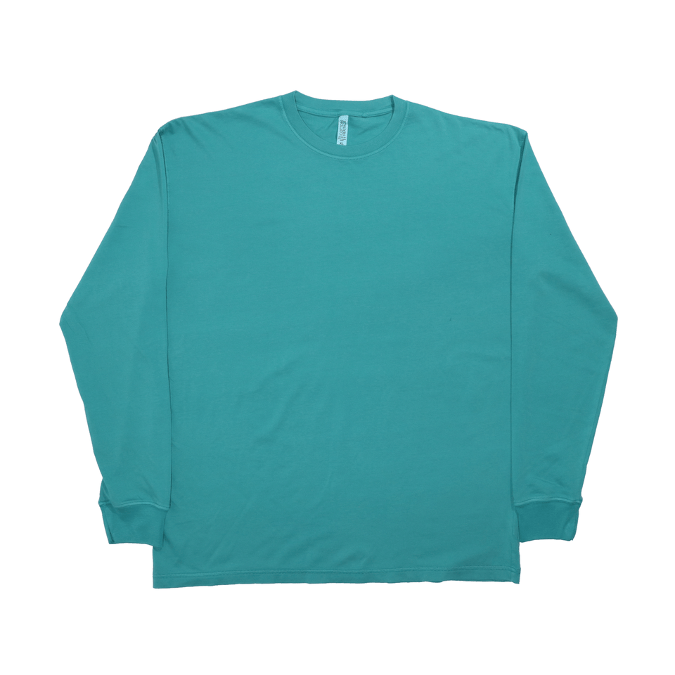 Organic Garment Dye Long Sleeve