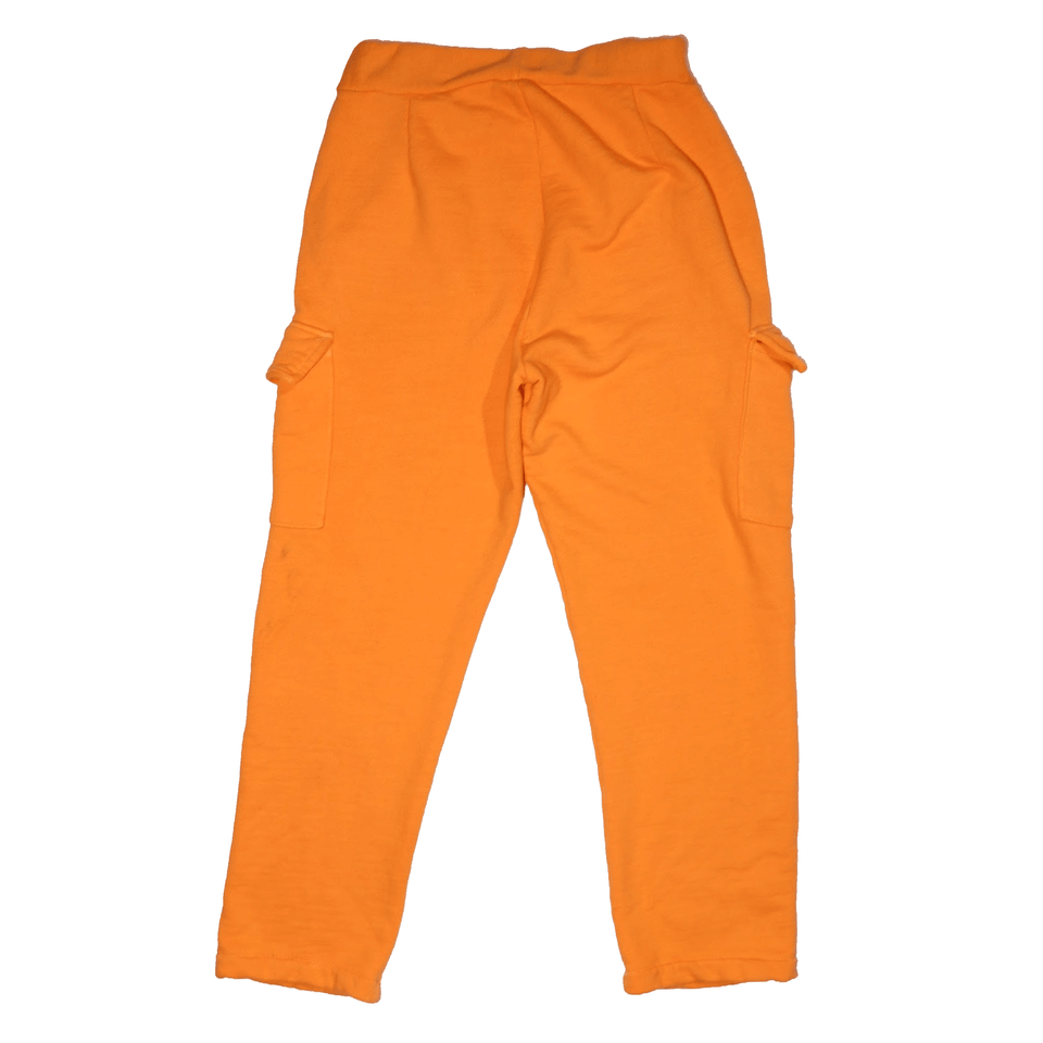 Orange Side Cargo Sweats