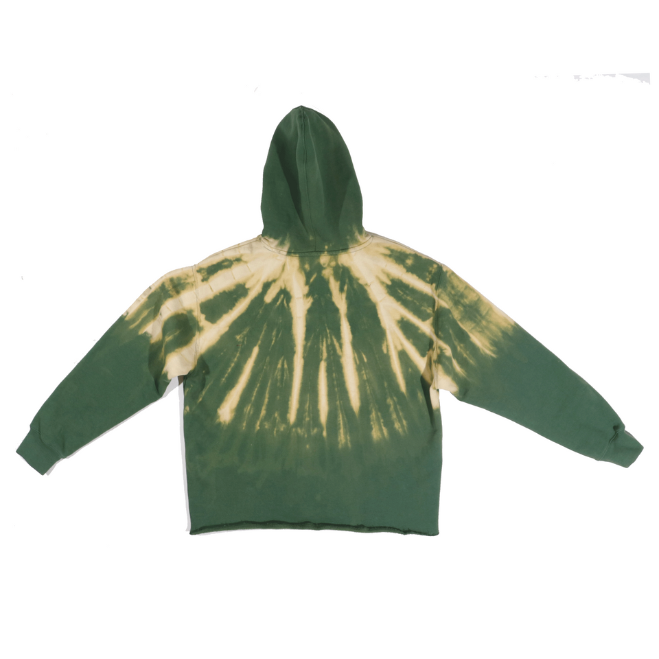 X-Ray Forest Dye Hoodie