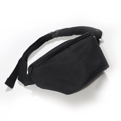 Black Utility Fanny Pack