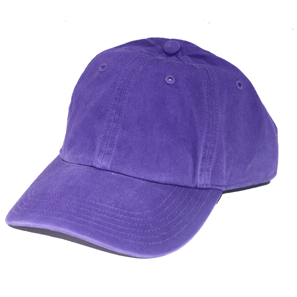 Purple Wash Chino Hat
